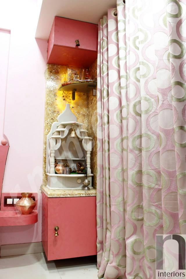 Modern Prayer Room by Nilesh V. Gosavi Indoor-spaces Modern | Interior Design Photos & Ideas