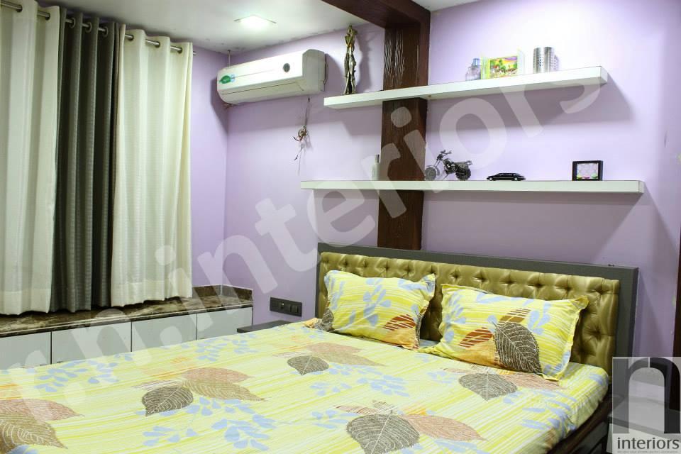 Contemporary Master Bedroom by Nilesh V. Gosavi Bedroom Contemporary   Interior Design Photos & Ideas