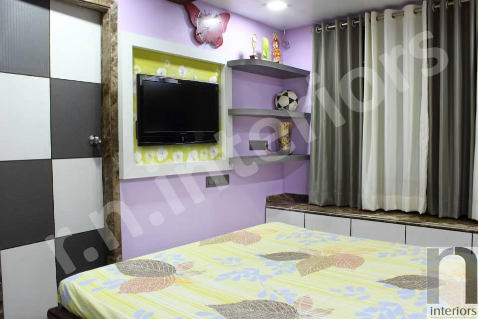 Contemporary Master Bedroom by Nilesh V. Gosavi Bedroom Contemporary | Interior Design Photos & Ideas