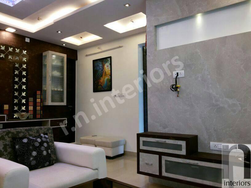 Contemporary Living Room by Nilesh V. Gosavi Living-room Contemporary | Interior Design Photos & Ideas