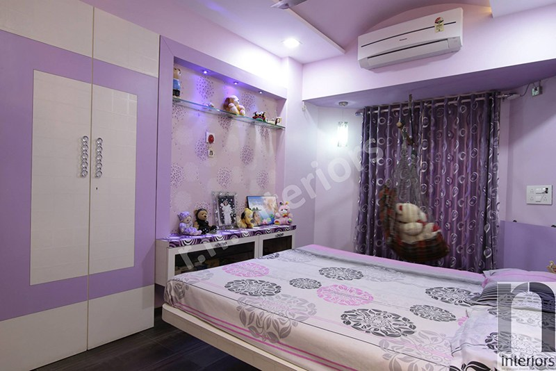 Contemporary Guest Bedroom by Nilesh V. Gosavi Bedroom Contemporary | Interior Design Photos & Ideas