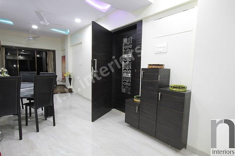 Living Room Display Unit by Nilesh V. Gosavi Living-room Minimalistic   Interior Design Photos & Ideas