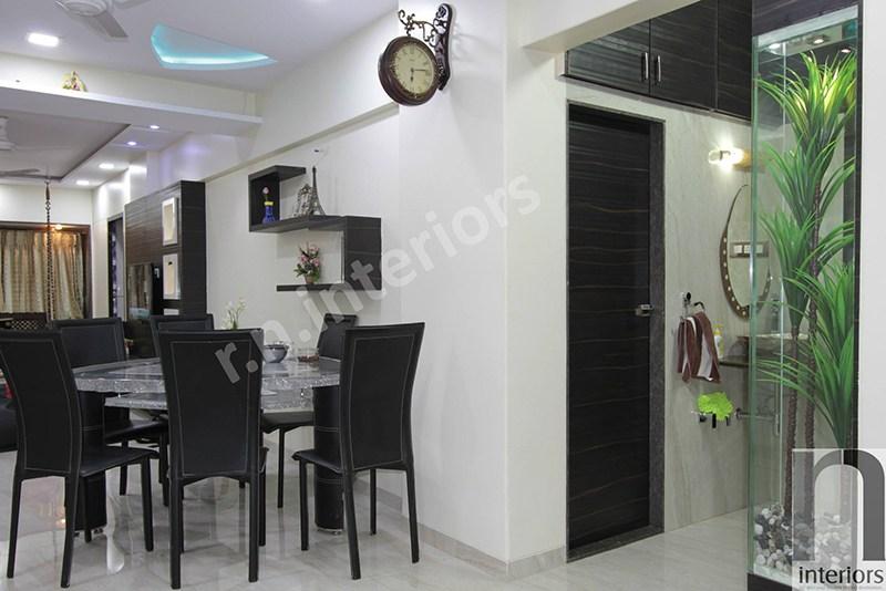 Modern Dining Area by Nilesh V. Gosavi Dining-room Modern | Interior Design Photos & Ideas
