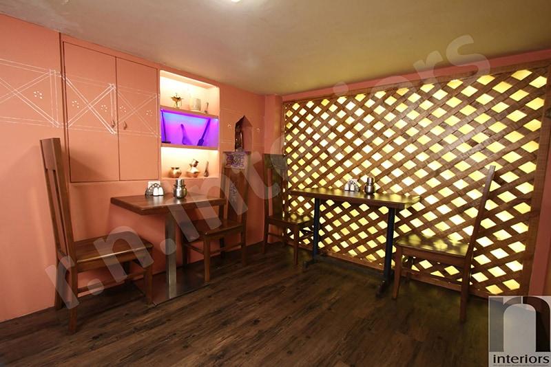 Standard Restaurant Area by Nilesh V. Gosavi Traditional | Interior Design Photos & Ideas