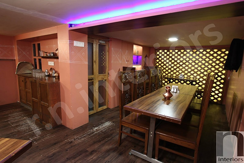 Traditional Restaurant Dining Space by Nilesh V. Gosavi Traditional | Interior Design Photos & Ideas