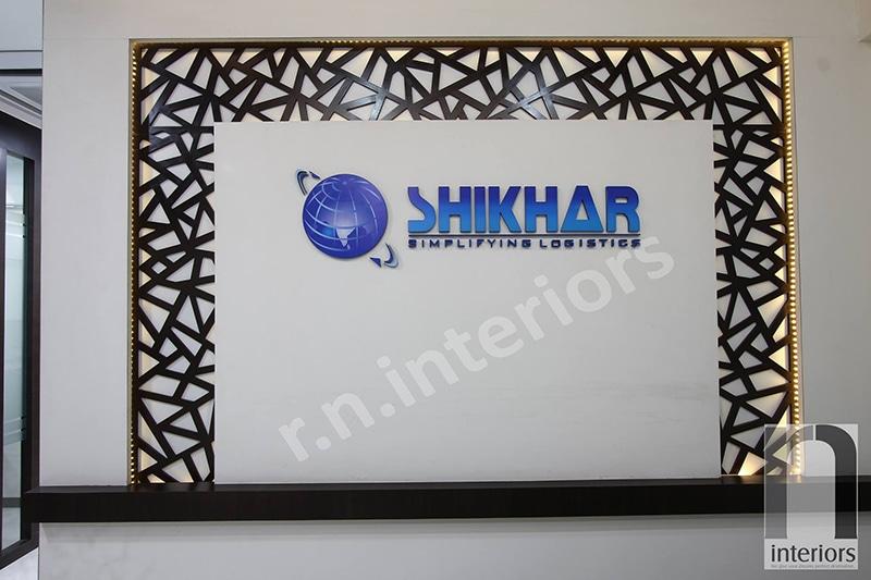 Modern office Wall Display by Nilesh V. Gosavi Modern | Interior Design Photos & Ideas