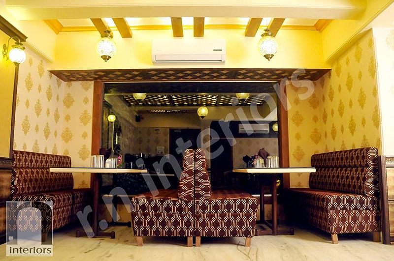 Contemporary FIne Dine  Restaurant by Nilesh V. Gosavi Contemporary | Interior Design Photos & Ideas