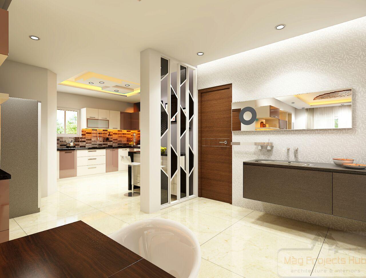Plain Modular Kitchen By Mohd Azeem Uddin