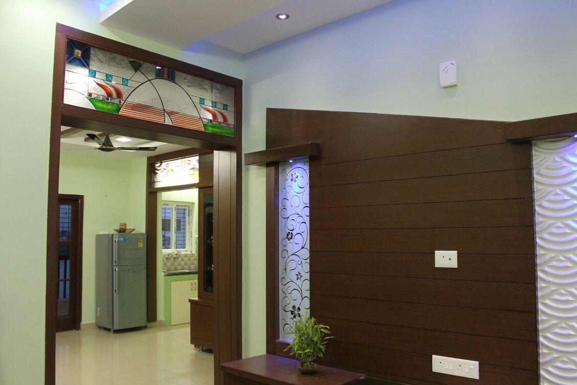 Wood says it all! by Ajay Modern | Interior Design Photos & Ideas