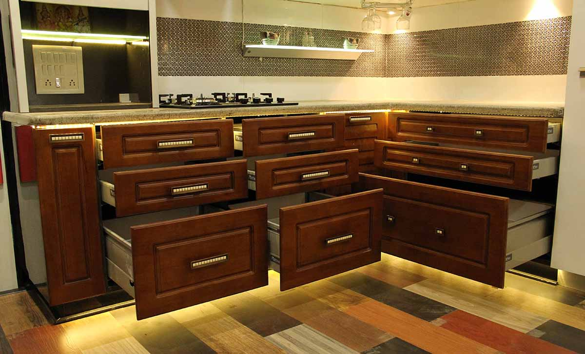 kitchen shelves by Srinivasan