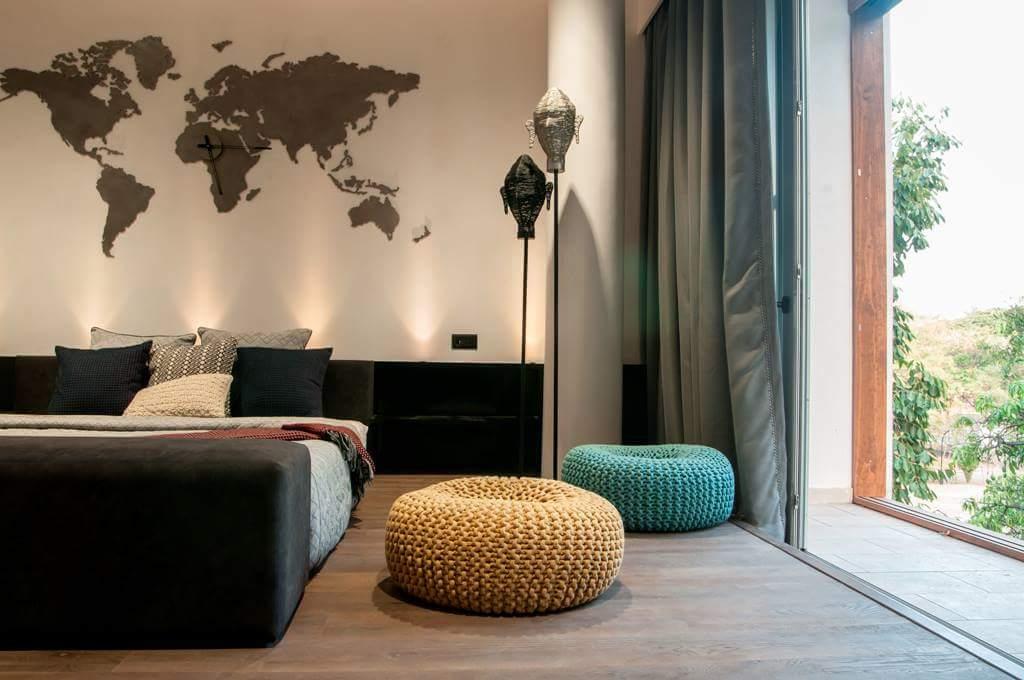 global bedroom by Fehmida Memon  Modern | Interior Design Photos & Ideas