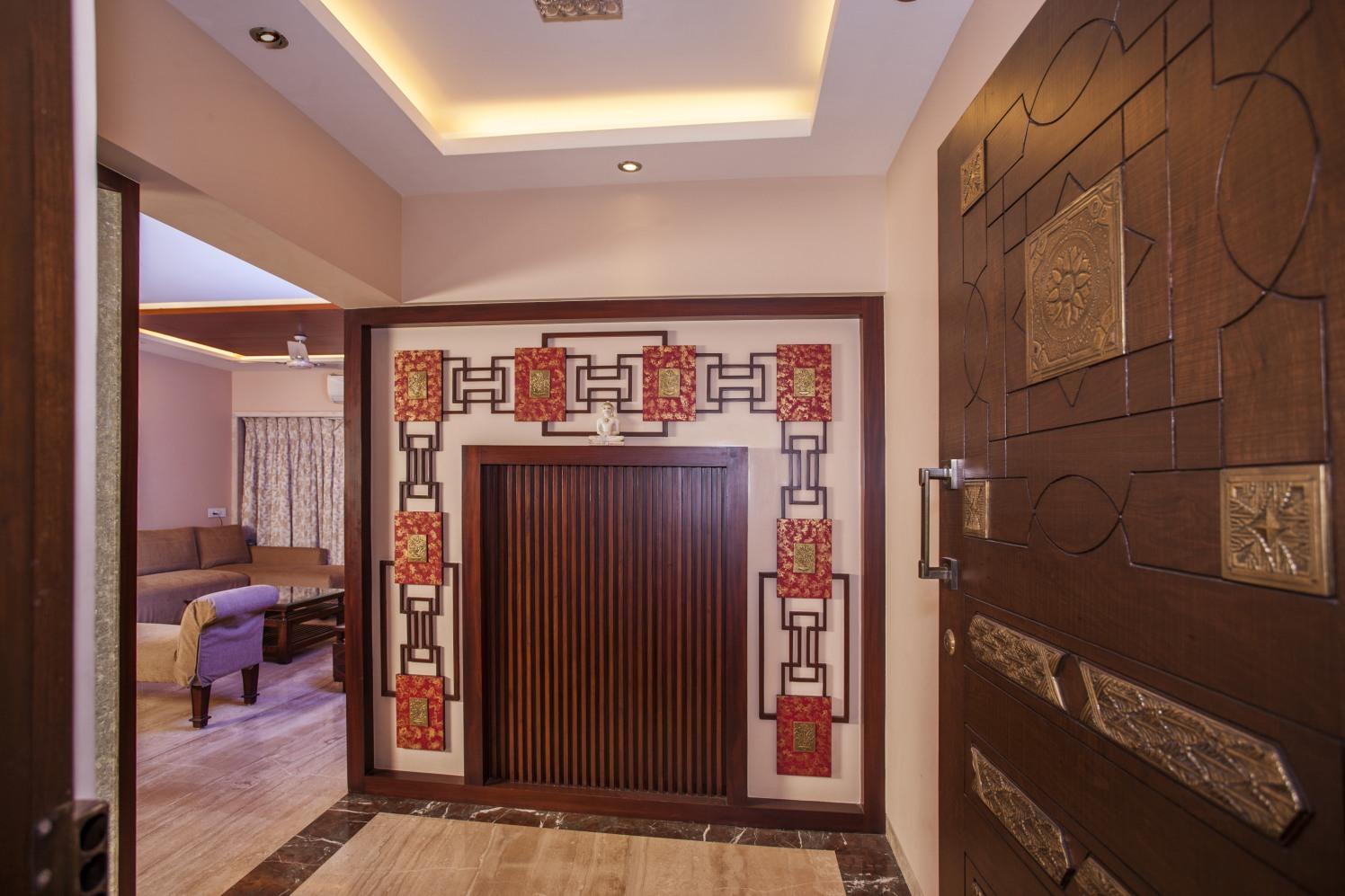 Mystique Brown by Plus One Interiors Indoor-spaces Contemporary | Interior Design Photos & Ideas