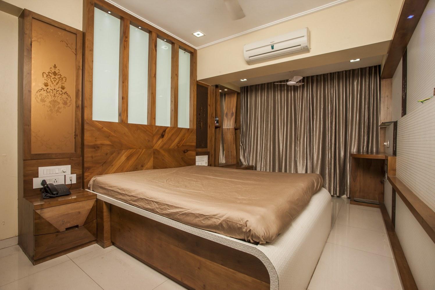 Contemporary Brown by Plus One Interiors Bedroom Contemporary   Interior Design Photos & Ideas