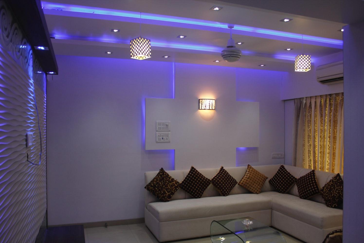 Mystique Blue by Plus One Interiors Modern | Interior Design Photos & Ideas