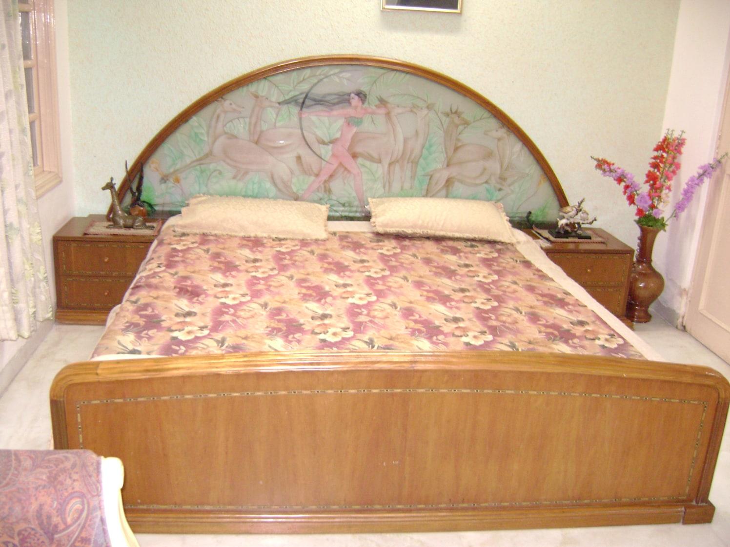Brown Affair by Plus One Interiors Bedroom | Interior Design Photos & Ideas