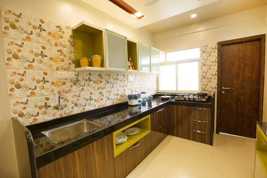 Its How Coffee Mixes With Cream In Your Kitchen by reshma agarwal Contemporary | Interior Design Photos & Ideas