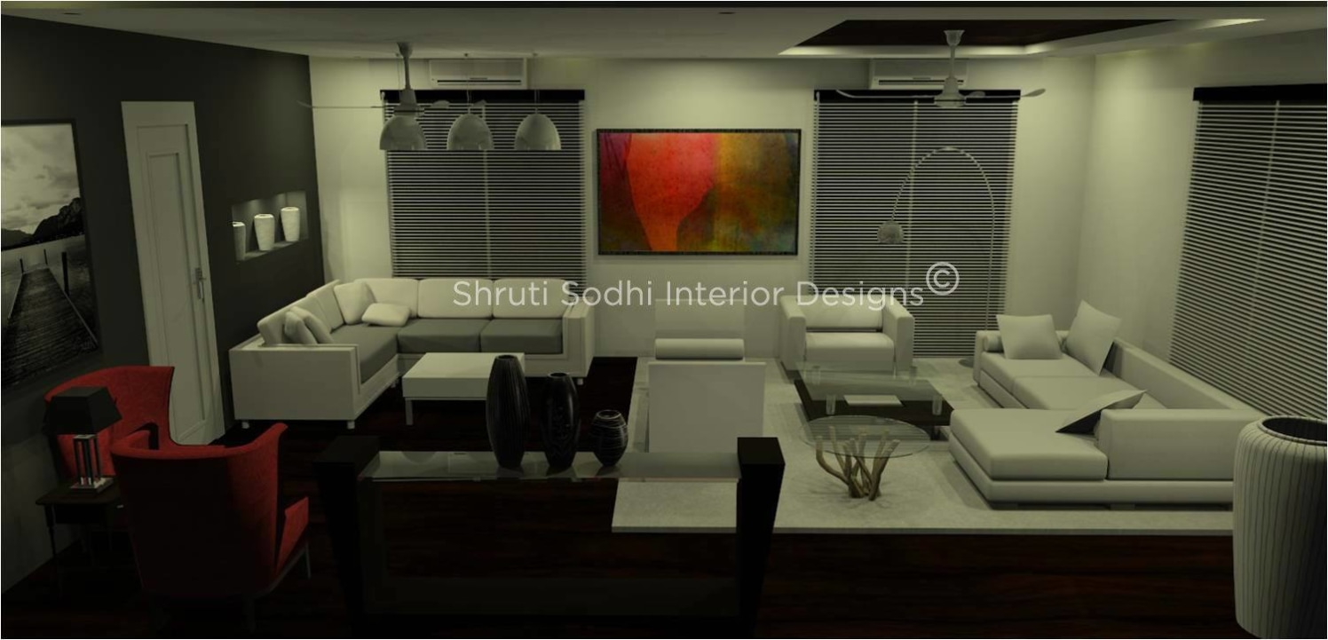 The Tony Living by Shruti Sodhi Living-room Modern | Interior Design Photos & Ideas
