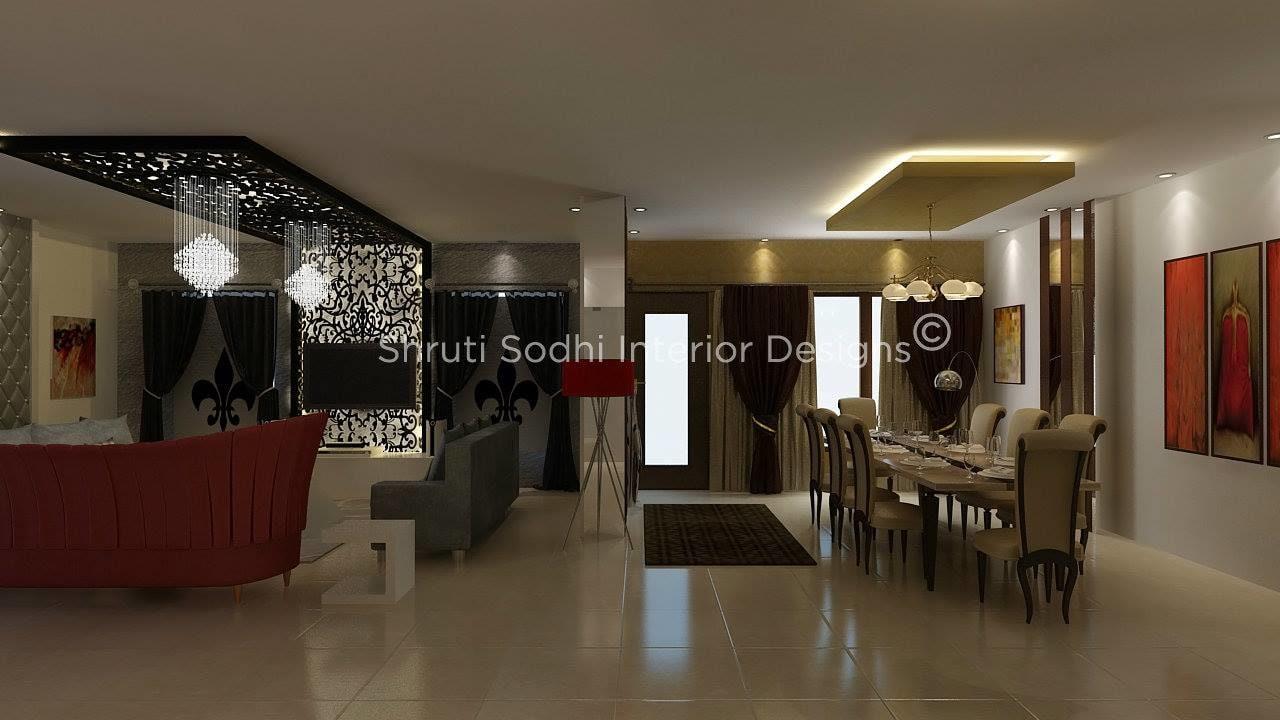 The Posh Living by Shruti Sodhi Dining-room Contemporary | Interior Design Photos & Ideas
