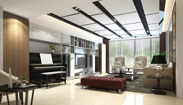 Contemporarily Poised by Shruti Sodhi Living-room Contemporary | Interior Design Photos & Ideas