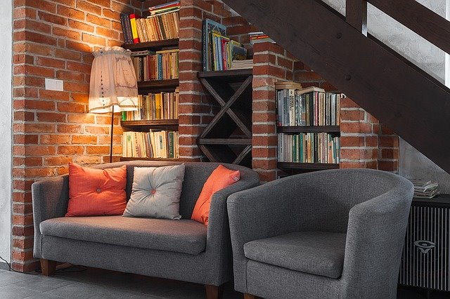 The Fiery Bricks by Shruti Sodhi Living-room Contemporary | Interior Design Photos & Ideas