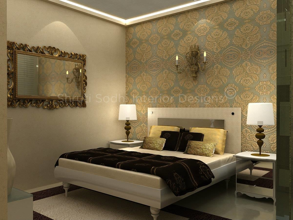 The Fused Chocolate by Shruti Sodhi Bedroom Contemporary | Interior Design Photos & Ideas