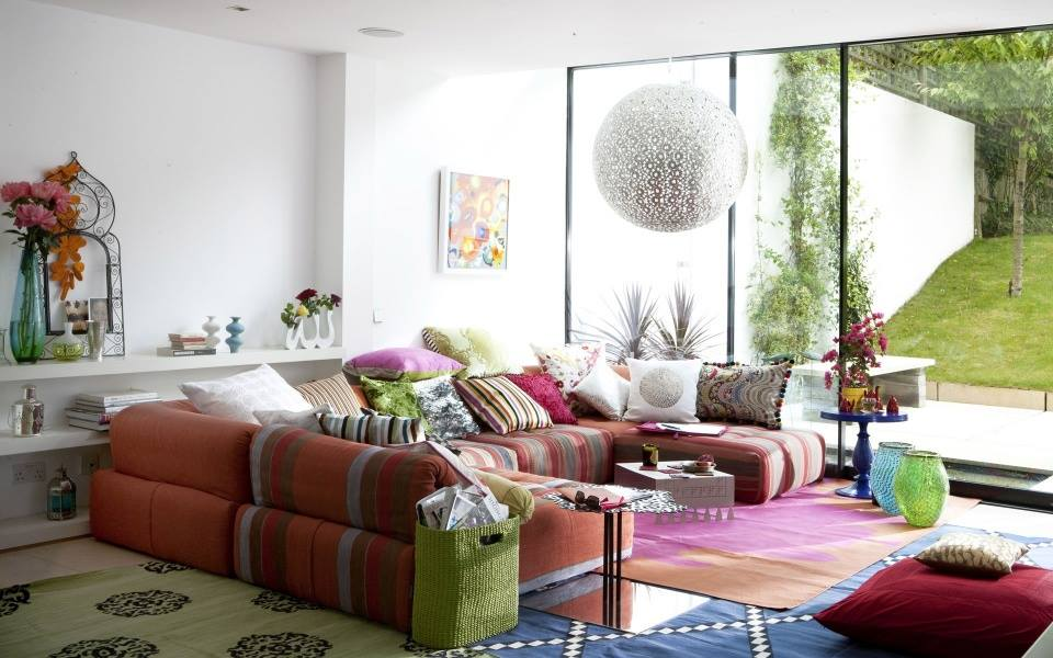 The Gateway To The Rainbow by Shruti Sodhi Living-room Contemporary | Interior Design Photos & Ideas