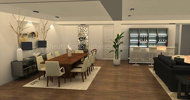 The WoodenLiving by Shruti Sodhi Dining-room Modern | Interior Design Photos & Ideas