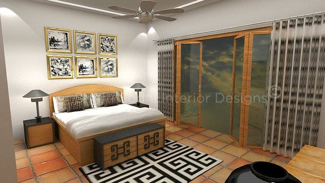 Similar Patterns by Shruti Sodhi Bedroom Contemporary | Interior Design Photos & Ideas