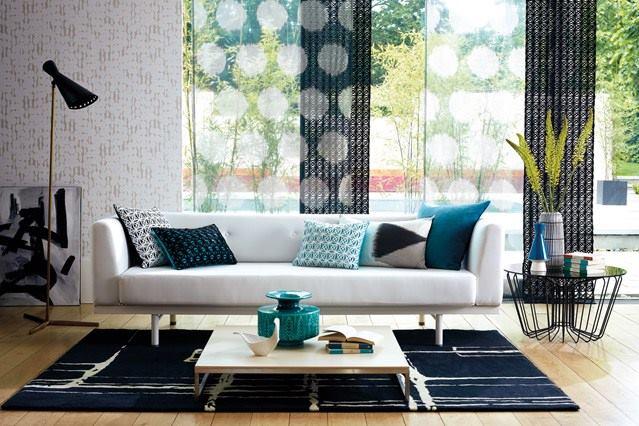 Texture's Verdict by Shruti Sodhi Living-room Contemporary | Interior Design Photos & Ideas