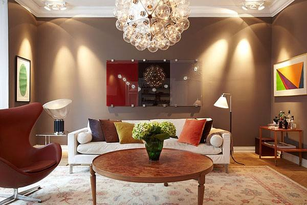 Ravishing Estate by Shruti Sodhi Living-room Contemporary | Interior Design Photos & Ideas