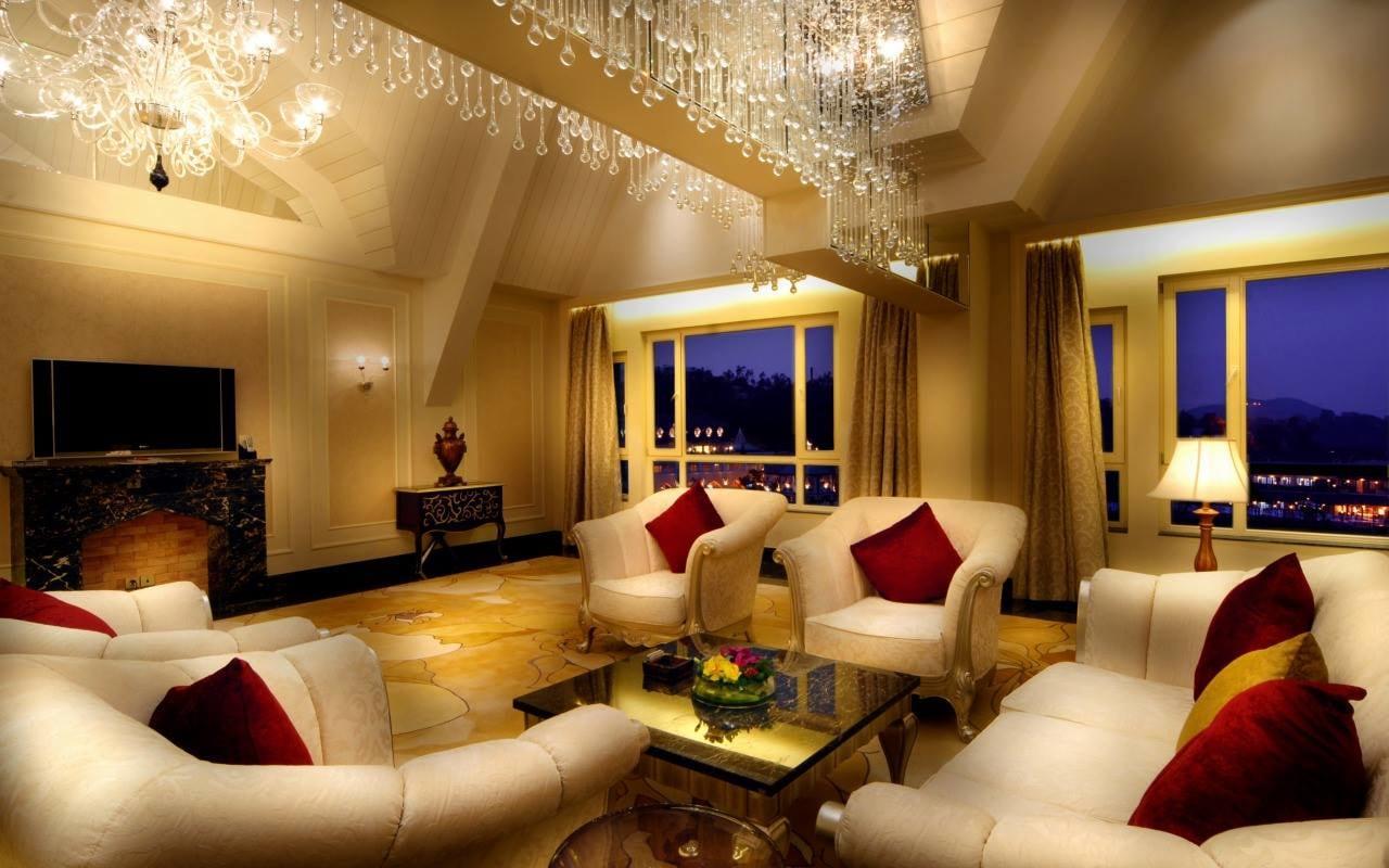 Free Fall by Shruti Sodhi Living-room Contemporary | Interior Design Photos & Ideas