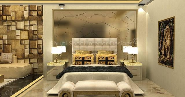 Golden Tooth by Shruti Sodhi Bedroom Contemporary | Interior Design Photos & Ideas