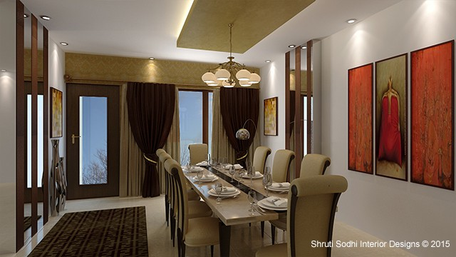 The Limpid Dining by Shruti Sodhi Dining-room Contemporary | Interior Design Photos & Ideas