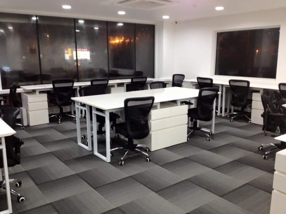 Black and White Office by Advaya Gowda Contemporary   Interior Design Photos & Ideas