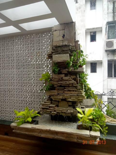 Porch by Rajesh Basu Majumdar