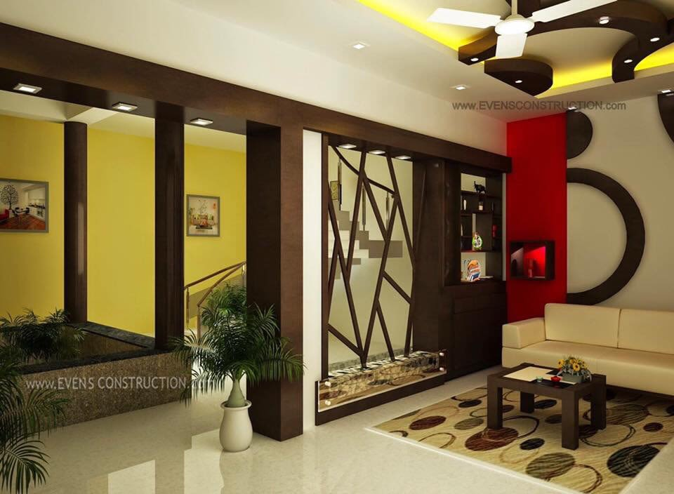 Living Room With White Sofas by Saurabh Garg Living-room Modern Modern | Interior Design Photos & Ideas