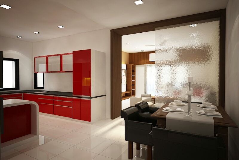Perplexing Kitchen by Sapna bhatti Contemporary | Interior Design Photos & Ideas