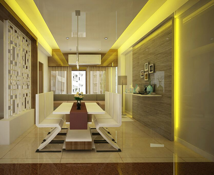Stupefying Dining Room by Sapna bhatti Contemporary | Interior Design Photos & Ideas