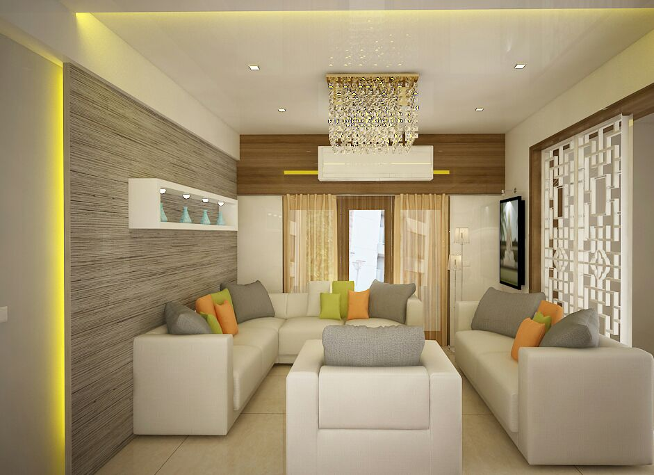 Beautiful Living Space by Sapna bhatti Modern | Interior Design Photos & Ideas