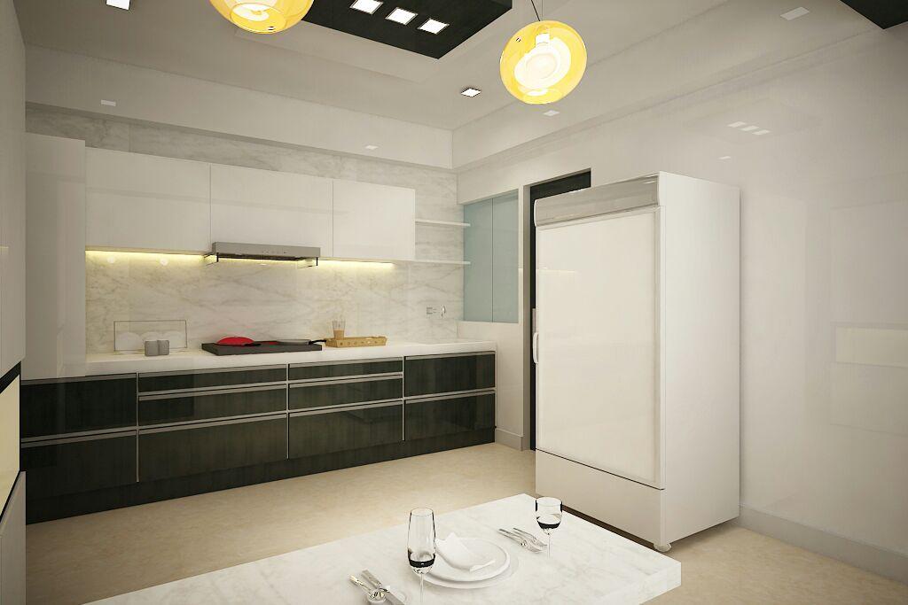 Heavenly Kitchen by Sapna bhatti Modern | Interior Design Photos & Ideas