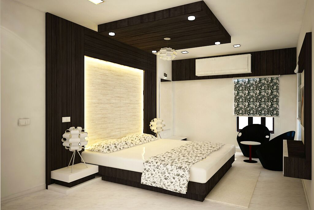 Magnificent Bedroom by Sapna bhatti Contemporary | Interior Design Photos & Ideas