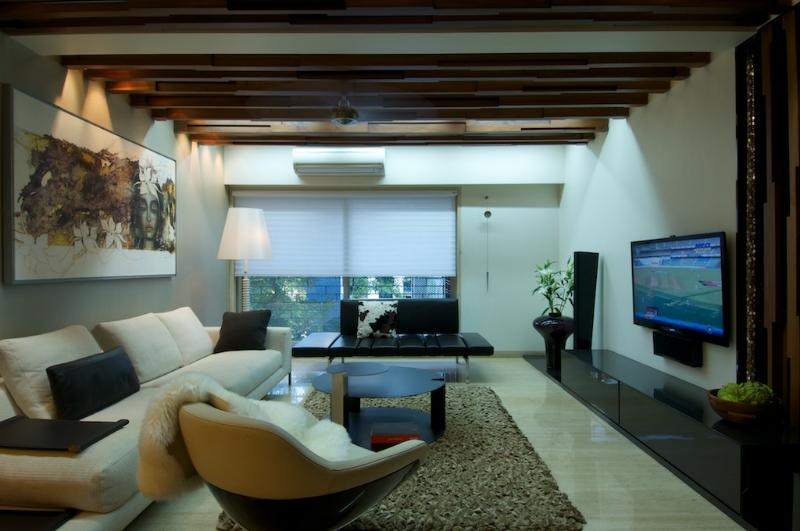 modular living room by Prakash Parmar Modern | Interior Design Photos & Ideas