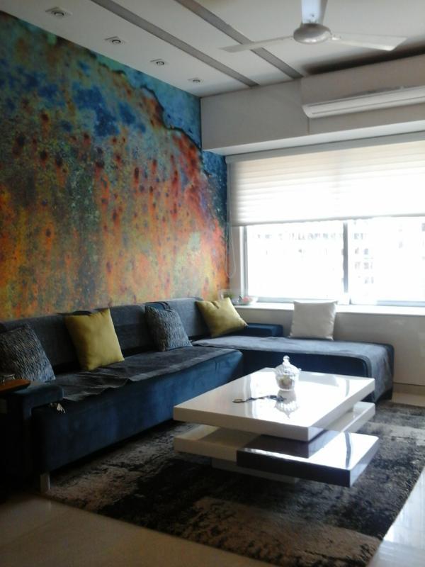 designer living room by Prakash Parmar Modern   Interior Design Photos & Ideas