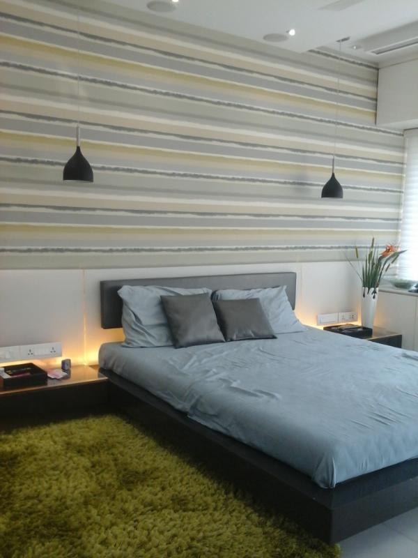 designer bedroom by Prakash Parmar Modern | Interior Design Photos & Ideas