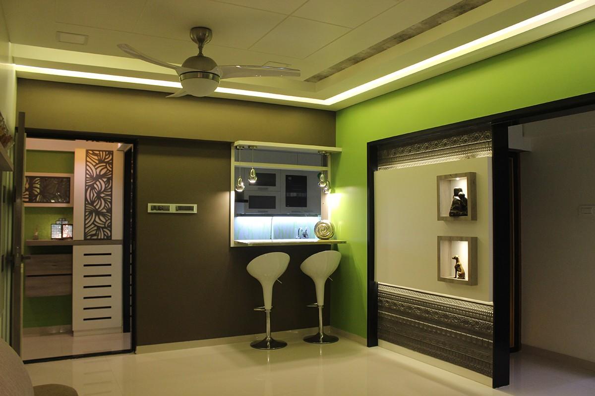 Bar by Poorva Palav Contemporary | Interior Design Photos & Ideas