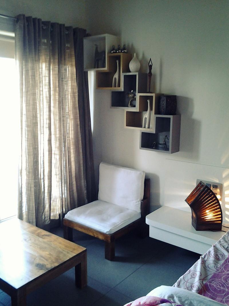 Simple Living Room by Poorva Palav Living-room Contemporary | Interior Design Photos & Ideas