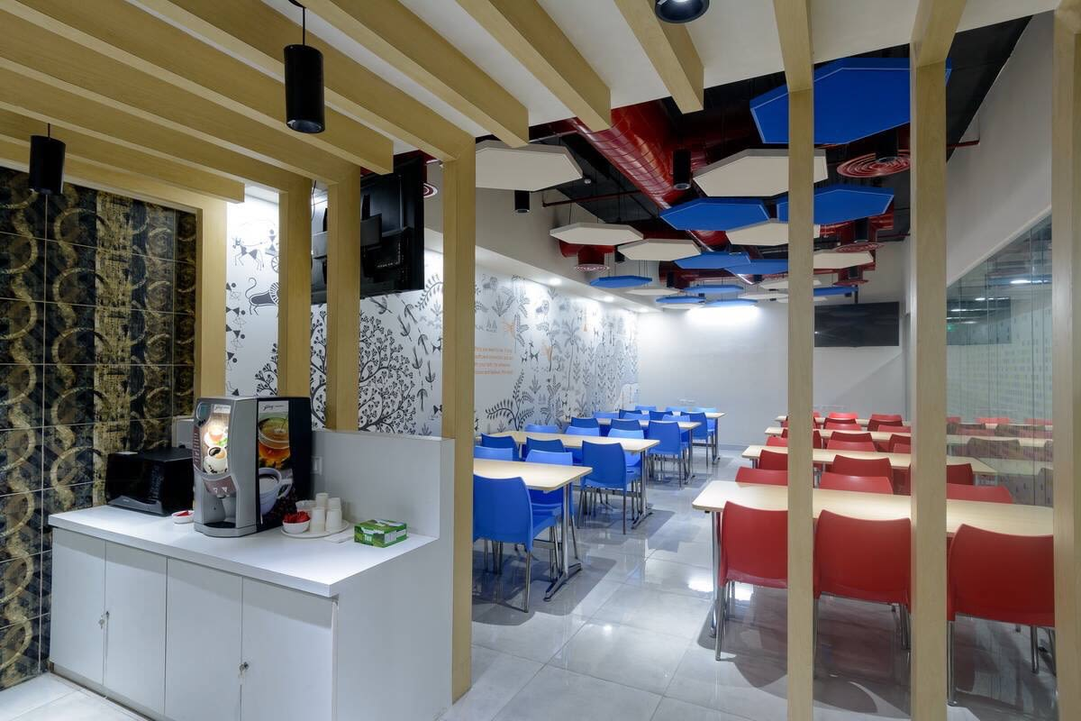 Cafeteria by Zakir Hussain Contemporary | Interior Design Photos & Ideas