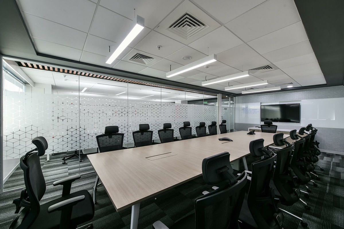 Modern Conference Room by Zakir Hussain Modern | Interior Design Photos & Ideas