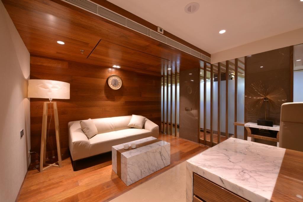 Wooden Masterpiece by Jeetan Ranpura Modern | Interior Design Photos & Ideas