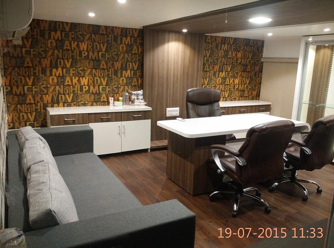 Meeting Room by Jigar Patel Modern | Interior Design Photos & Ideas